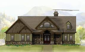 Rustic Mountain House Floor Plan   Walkout Basementmountain home house plans photos