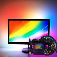 <b>easy</b> DIY Ambilight RGB WS2812B LED Strip Full <b>set</b> TV Desktop ...