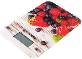 <b>Кухонные</b> электронные <b>весы Endever Chief</b>-<b>508</b>, рисунок ягоды