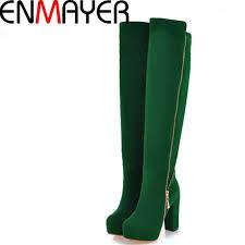 <b>ENMAYER Fashion Summer</b> Over The Knee High Boots Women ...