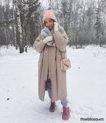 Зимние образы от модных блоггеров | <b>Зимние наряды</b>, Зимний ...