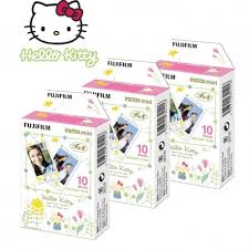 <b>FUJIFILM Colorfilm</b> instax mini <b>Hello Kitty</b> Light Frame (10 pcs.)