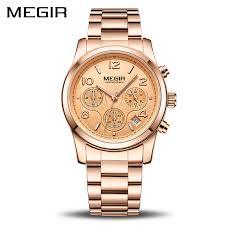 MEGIR Luxury Quartz Women Watches <b>Relogio Feminino Fashion</b> ...