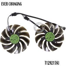 2019 Fans Cooling <b>88MM T129215SU PLD09210S12HH 12V</b> 4Pin ...