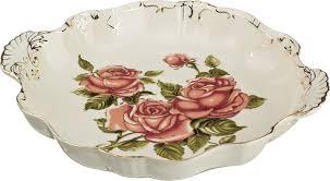 """<b>Блюдо Lefard</b> """"<b>Корейская роза</b>"""", 34 х 30 х 5 см. CK-4333, код ..."""