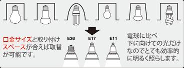 「led 下向きダウン」の画像検索結果