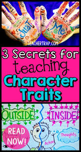 best images about characters setting problem and solution kids having trouble understanding character traits about the 3 secrets for teaching character traits