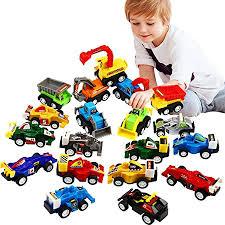 Pull Back <b>Car</b>, <b>20 Pcs</b> Assorted Mini Truck <b>Toy</b> and Race <b>Car Toy</b> Kit ...