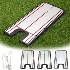 acrylic <b>golf putting mirror</b> alignment <b>training</b> at Banggood