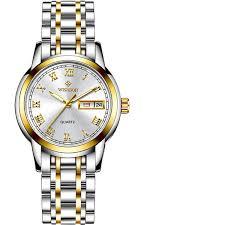 <b>WISHDOIT</b> Fashion Casual Quartz <b>Watches</b> Stainless Steel <b>Women</b> ...