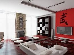 the furniture needs to reflect minimalism and space plain furniture in dark wood tones or black tend to be used in designing modern rooms as the darker asian style furniture