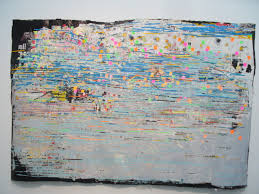 uncategorized chicagoartnews in his pieces referencing the grid and mapping he created portable water not an aerial map of l a but an abstract grid map of the drinking ability of