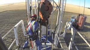 most dangerous oil rig job video
