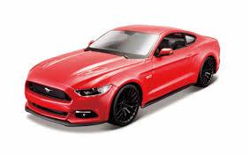<b>Maisto 1:24</b> AL <b>2015 Ford</b> Mustang GT - Red, 1 Count - QFC