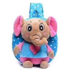 Kid <b>cartoon elephant backpack</b> kindergarten cute schoolbag baby ...