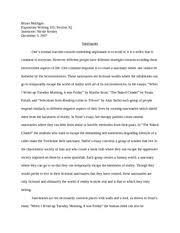 rutgers essay sample representation essay  final draft    Bryan Mulligan Expository