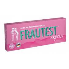 Отзывы о <b>Тест на беременность Frautest</b> express