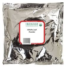 Frontier Alfalfa Leaf Powder <b>Certified Organic</b>, 16 Ounce Bag - Buy ...