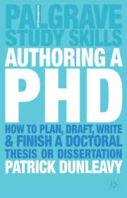 Authoring a PhD   Patrick Dunleavy   Palgrave Higher Education Authoring a PhD