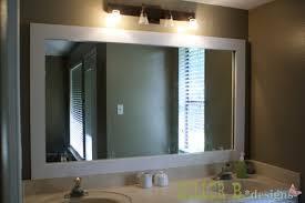 wood bathroom mirror digihome weathered: white framed bathroom mirrors digihome white framed bathroom mirrors a clean white wood frame framed bathroom mirrors