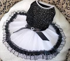 Black White <b>Dog Dress</b>-Bingpet