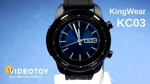 Смарт <b>часы KingWear</b> Smartwatch <b>KC03</b> круговой обзор - YouTube