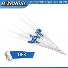 10PCS <b>DB3 DB 3</b> Diac Trigger Diodes <b>DO 35</b> DO 204AH hjxrhgal ...