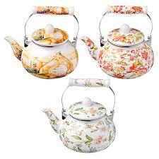 Чайник 2,5 <b>л</b> VETTA, <b>эмалированный</b>, 3 дизайна, индукция в ...