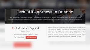 PRESS RELEASE: Joel Leppard Tops List as #1 Best DUI Attorney ...