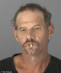 Alan Dale Lee mugshot: Drug user dubbed Dracula whose teeth give ... via Relatably.com