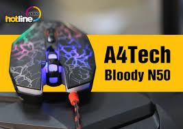 Видеообзор игровой <b>мыши A4Tech Bloody N50</b> - ITC.ua