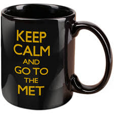 """<b>Keep Calm And Go</b> To The Met"" Mug 