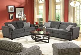 Red Wall Living Room Decorating Living Room Red Wall Paint And Grey Sofas Color Combination Of