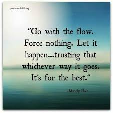 Go with the flow | Quotes | Pinterest | Let It Go, Ibiza and Met