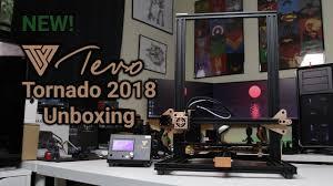 <b>NEW</b> TEVO <b>Tornado</b> 2018 Edition | <b>3D Printer</b> Unboxing, First Prints ...