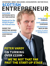 local entrepreneur launches new digital business magazine scottish entrepreneur cover
