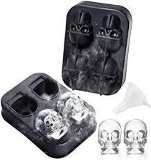 <b>3D Skull</b> Ice Cube Mold