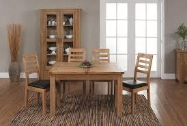 Oak Furniture Dining Room Furniture Vintage Open Plan Dining Room Design With Colorful