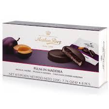 <b>Конфеты шоколадные Anthon</b> Berg с марципаном Слива в ...