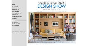 a world of design inspiration awaits at the 15th annual architectural digest design show on march 17 20 2016 shop the latest furniture accessories architectural digest furniture