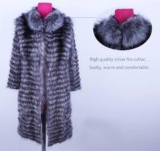 Linhaoshengyue <b>2018NEW HOT</b> fox fur long coat <b>Wool</b> knit liner ...