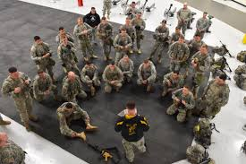 u s department of defense photo essay iers are briefed before a combined obstacle course and combatives event in the best warrior competition