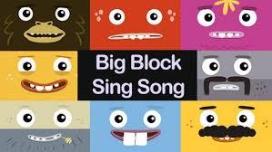Big block sing song | <b>Barnkanalen</b>