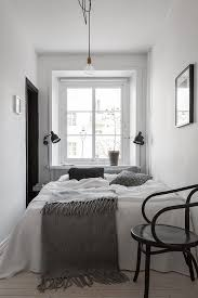 bedroom furniture ideas small bedrooms. small bedroom styling in the monohcome home of swedish interior stylist elin kickn furniture ideas bedrooms