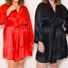 <b>New women's</b> autumn style sexy bathrobes high quality <b>real</b> silk ...