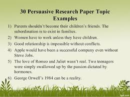 How to Choose Research Paper Topics  FC