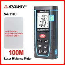 SNDWAY Laser Distance Meter Range Finder Rangefinder 40m ...