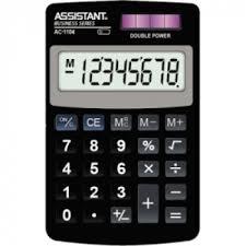 Купить <b>карманный калькулятор Assistant</b> AC 1104 в Украине ...