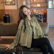 <b>Trench</b> Women Simple <b>Elegant</b> Korean <b>Harajuku</b> Leisure <b>Coats</b> ...