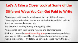 make money blogging doing creative writing jobs make money blogging doing creative writing jobs